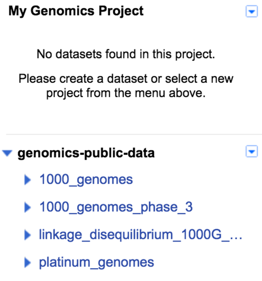 Analyze variants using Google BigQuery — Google Genomics v1